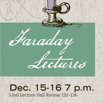 Faraday Lectures to Create Chemistry Cheer
